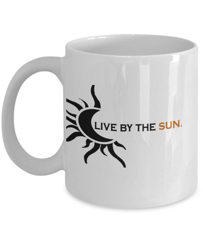 Live By The Sun 11oz Mug