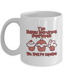 The Human Resources Department Will Work For Cupcakes 11oz Mug