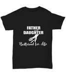 Father And Daughter White Design Unisex Tee