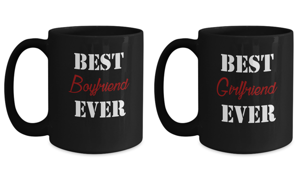 Best Boyfriend & Girlfriend 15oz Couple Mug