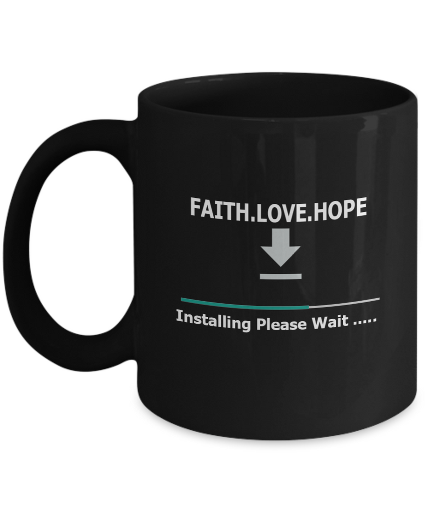 Faith Love Hope 11oz Mug