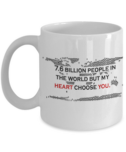 7.6 Billion People 11oz Mug