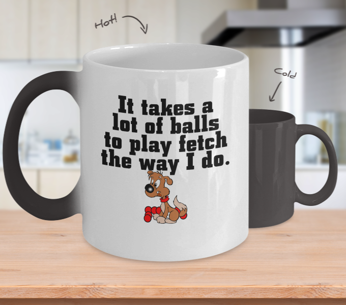 Play Fetch Color Changing Mug