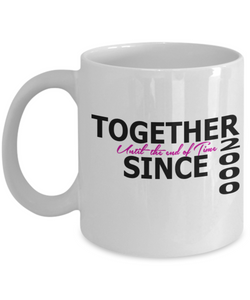 Together Since 2000 11oz Mug