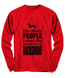 Dachshund Long Sleeve Tee
