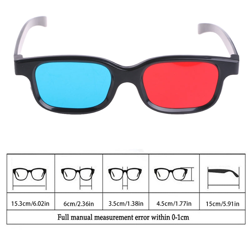 b8733033f627 ... Universal Black Frame 3D Movie Game Sunglasses Womens Mens Novelty