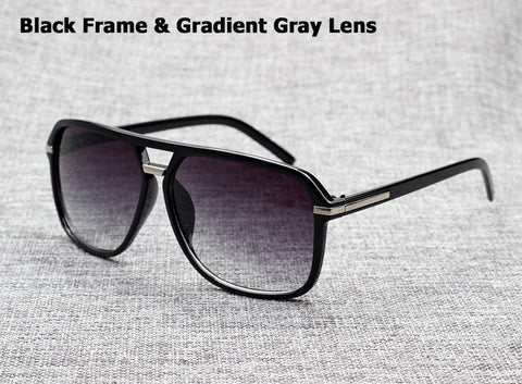 58963828de80 Vintage Gradient Square Cheap Sunglasses Mens Womens Novelty