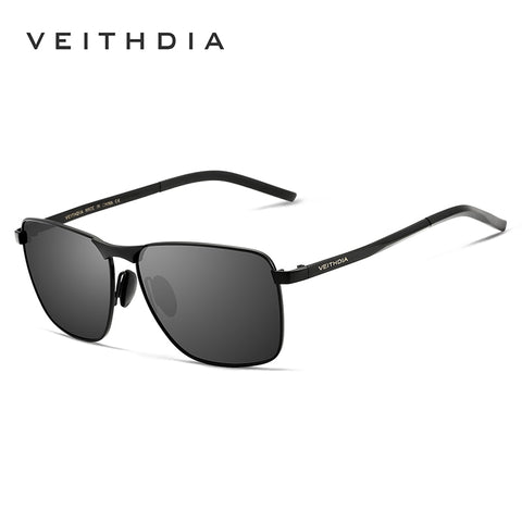 c728012187bf VEITHDIA Square Vintage Sunglasses Women's Men's Novelty