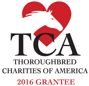 Thoroughbred Charities of America Grant Helps Fund FFI's Adoption Program in 2016