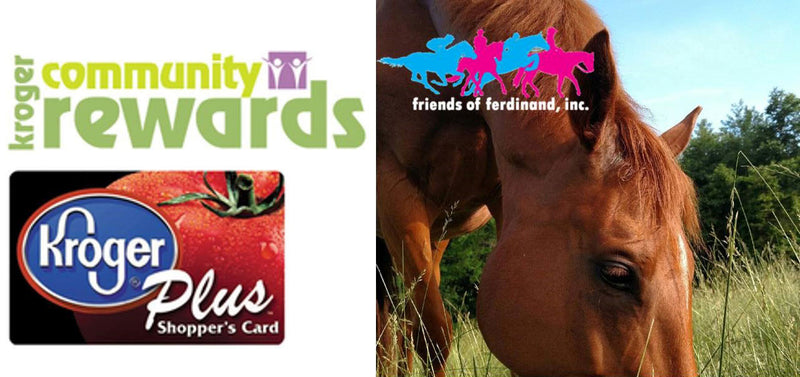 Shop at Kroger?  Link Your Kroger Plus Card to FFI and Help Feed the Horses!