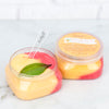 Leebrick peach whipped Sugar Scrub