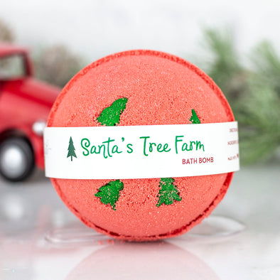 Santa's Tree Farm Bath Bomb