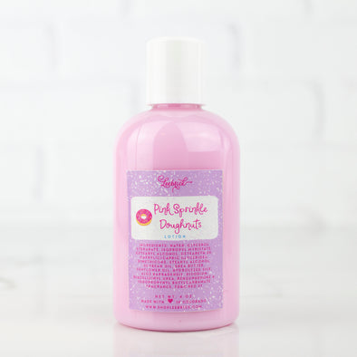 Pink Sprinkle Doughnuts Lotion
