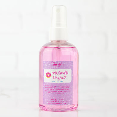 Pink Sprinkle Doughnuts Body Spray