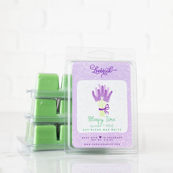 Sleepy Time (Lavender + Mint) Wax Melts