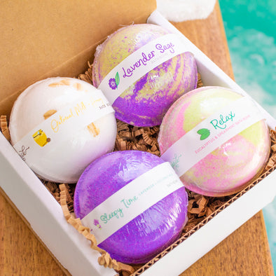 Relax Yo' Self Bath Bomb Set