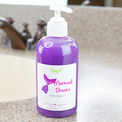Mermaid Dreams Liquid Hand Soap 8 oz w/pump