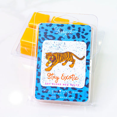 Stay Exotic Tiger Wax Melts