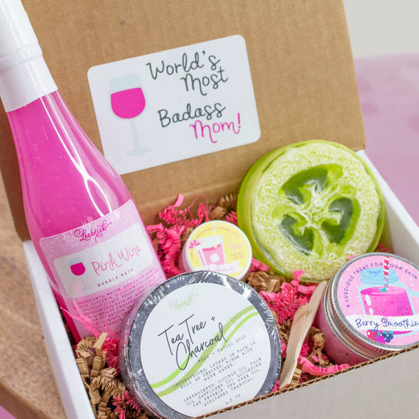 Badass Mom Happy Mother's Day Gift Set