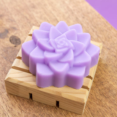 Lavender Natural Essential Oil Bar Soap