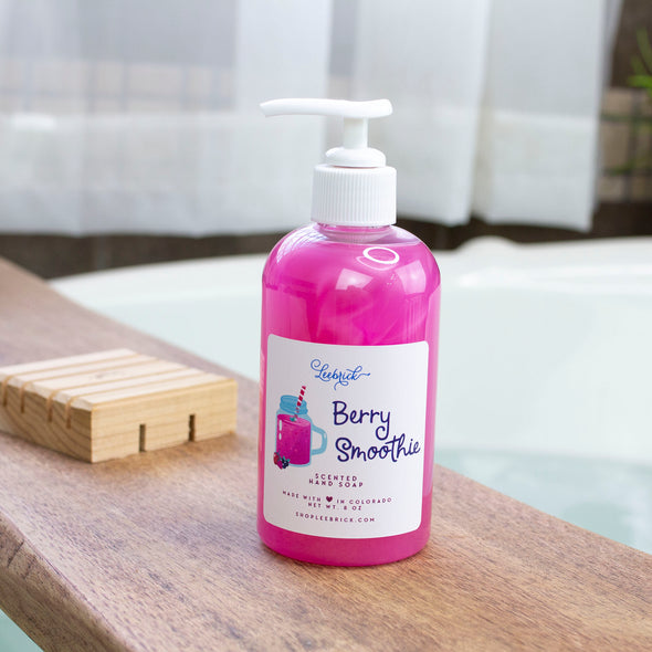 Berry Smoothie Liquid Hand Soap 8 oz w/pump