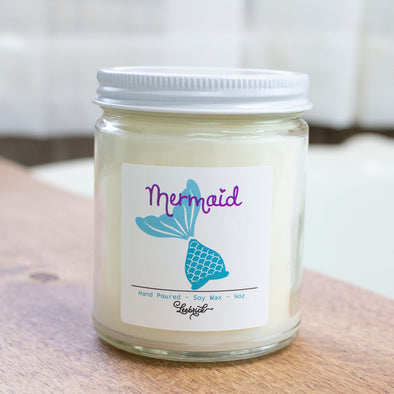 Mermaid Soy Blend Wax Candle