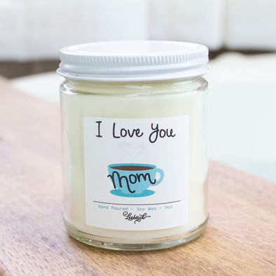 Mom Coffee Soy Blend Wax Candle