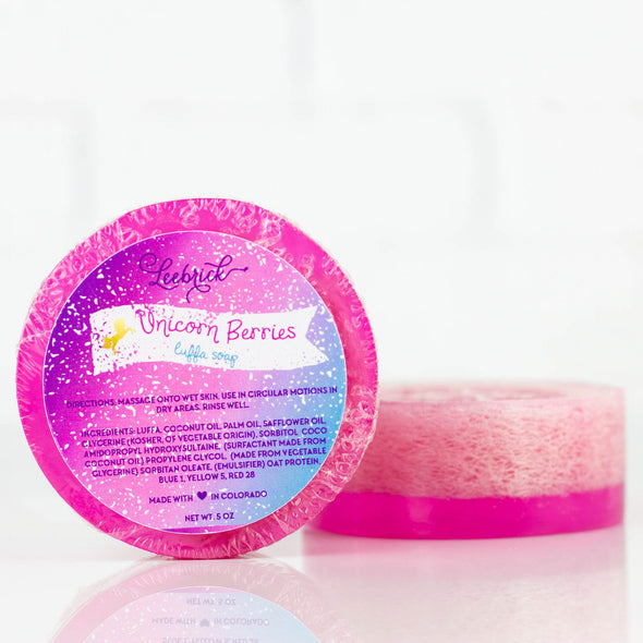 Unicorn Berries Loofah Soaps