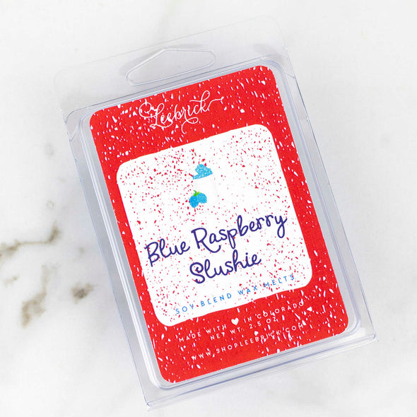 Blue Raspberry Slushie Soy Wax Melts