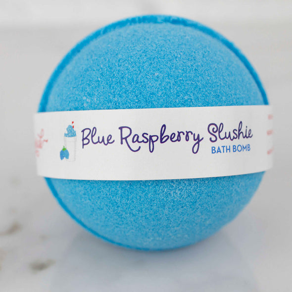 Blue Raspberry Slushie Bath Bomb
