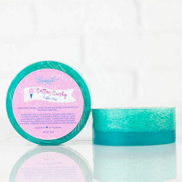 Cotton Candy Luffa Soap
