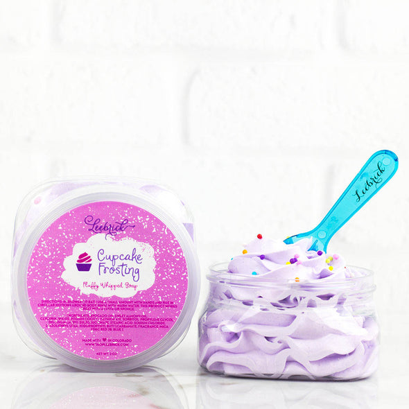 Cupcake Frosting Scented Fluffy Whipped Soap
