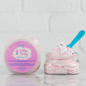 Cotton Candy Scented Fluffy Whipped Soap