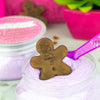 Sugar Scrub with Gingerbread Man Soap