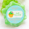 Leebrick Lush Succulent, Succulent blossom shaped bar soap