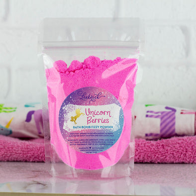 Unicorn Berries Bath Bomb Powder
