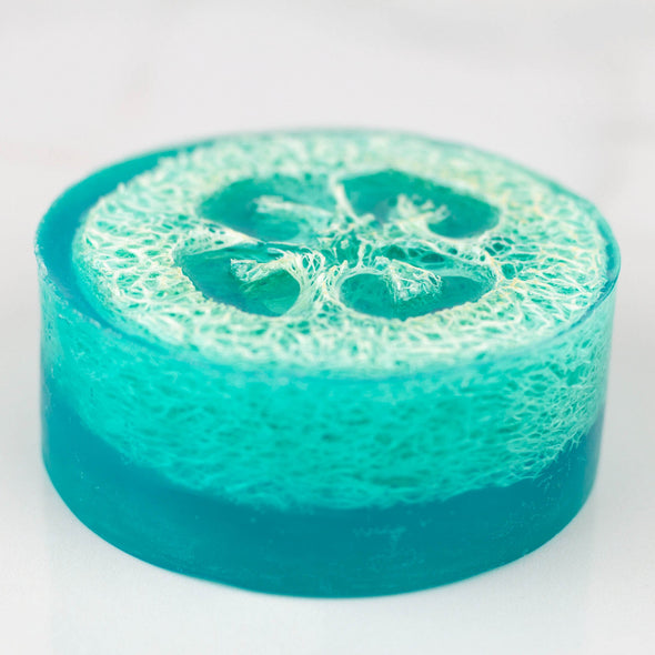 Loofah Cotton Candy Scented Soap