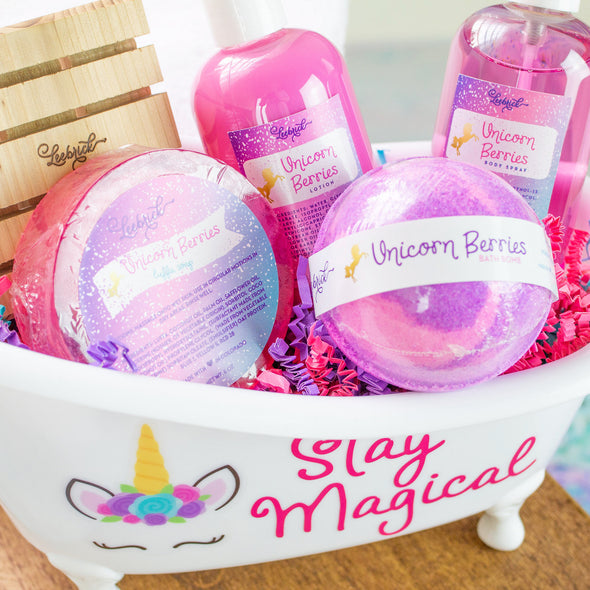 Magical Unicorn band and body products gift set