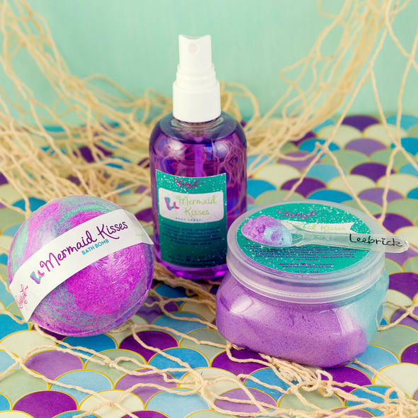 Mermaid Kisses Scented Bath Products