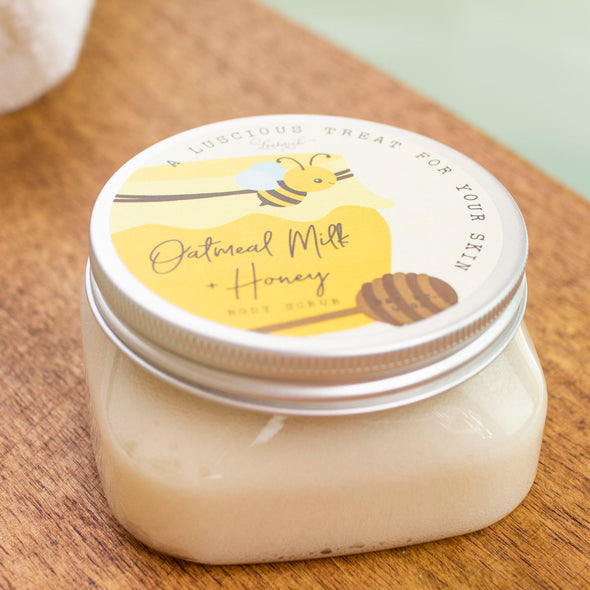 Oatmeal Milk & Honey Body Scrub