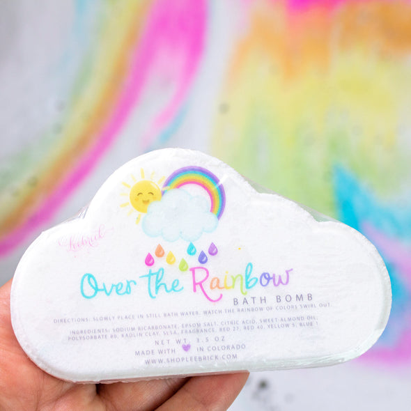 Over the Rainbow Cloud Bath Bomb