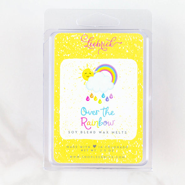 over the rainbow scented wax melts