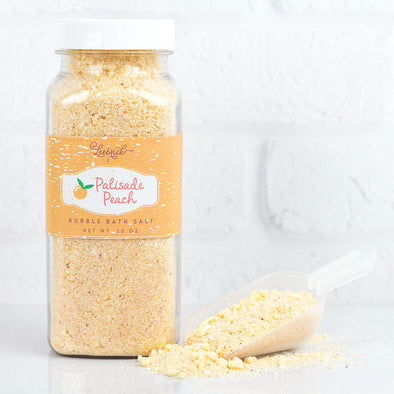 Palisade Peach Bubble Bath Salts