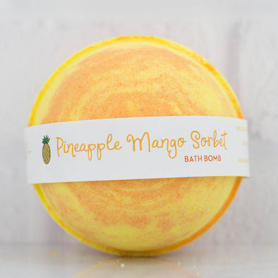 Pineapple Mango Sorbet Large Bath Bomb