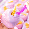 Close up of Unicorn Berries Whipped Sugar Scrub