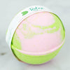 Relax Large round pink and green bath bomb