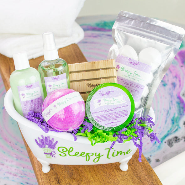 Sleepy Time Bathtub Gift Set