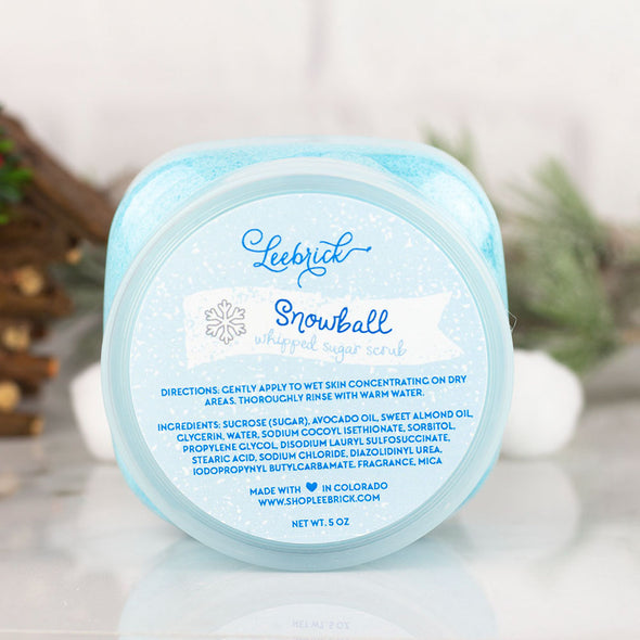 Snowball sugar scrub by Leebrick