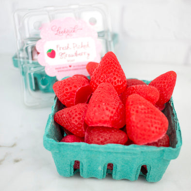 Fresh Picked Strawberries Soap