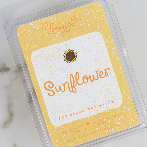Sunflower Wax Melt Cubes